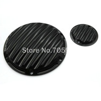 Wholesale 2016 New Design CNC Deep Cut Derby Cover Timing Timer Covers For Harley Sportster XL