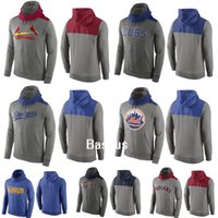 baseball clothing for men - All Teams New Baseball Hoodies Cubs Giants Red Sox Mets Candinals Dodgers Royals Tigers Yankees Blue Gray Sweater Clothing For Men