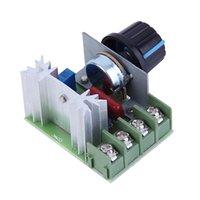 Wholesale 2000W AC V SCR Electronic Voltage Regulator Module Speed Control Controller Ajust Worldwide