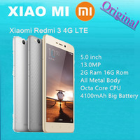 Wholesale Original Xiaomi Redmi Metal Body Mobile Phone Snapdragon Octa Core FDD LTE G RAM G ROM mAh quot X720 MP Smartphone