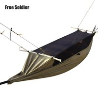 Wholesale Outdoor Camping Hiking Tent Portable Green Mosquitoe Anti tear Hammock Polyester Waterproof Large Tent for Person