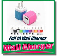 ac adapte - colorful output v A US Plug USB Wall AC Charger Power Adapte chargering for mobile phone wall charger DHL free OM CI8