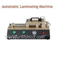 auto laminator - TBK Auto automatic Vacuum OCA film Laminating machine Polarizer Film Laminator with vacuum pump air compressor for iPhone for Samsung