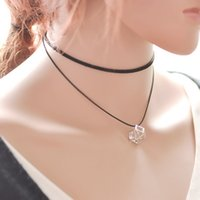 amethyst powers - Double Villus Necklace Women Simple Fashion Creative National Pendant Necklace
