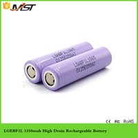 Cheap High Capacity F1L 18650 3350mAh battery Best 3.7v 18650 battery F1L