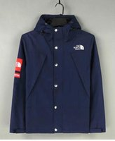 Wholesale 2016 new Men Jacket Autumn Patchwork Jacket Sport Hip Hop Outdoor Waterproof Windbreaker Men Coat Trend Brand