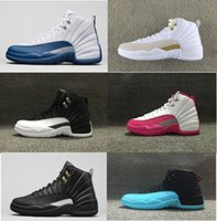Wholesale High Quality Mens and Women Basketball Shoes Flu Game French Blue The Master Gym Red Shoes US5