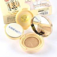 Wholesale Nude makeup essential genuine spiritual point soymilk powder condensate cushion BB Cream Whitening Moisturizing Concealer send replacem ZP01