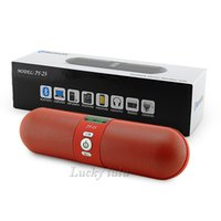 big calling cards - Hot sale JY Digital Screen Display Bluetooth Pill Speaker Wireless Big Sound Mic Support Handsfree Call FM TF Card USB