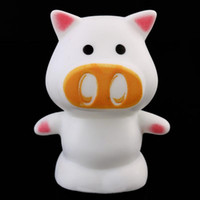 Wholesale 2016 New Magic Cute Pig Shaped LED Indoor Lights Novelty Lamp Night Light Colorful Changing Colors Decor Nice Gift For kids