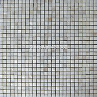 bathtub wall tile - Mother of pearl tile thickening square white kitchen backsplash mosaic shell bathtub tile bathroom wall flooring covering tile