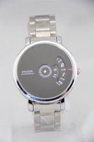 auto turntables - Wrist watch Original Veyron Wilon fashion genuine steel strip Turntable Dial quartz watch dizzy mens watches relogio masculino