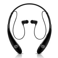 Wholesale Bluetooth Headphones HBS HBS Wireless Sport Neckband Headset In ear Stereo Earphones for cell phone