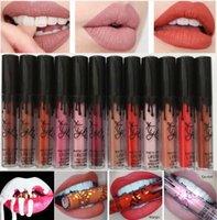 Wholesale 22 colors DHL New Waterproof Makeup Lips Kylie Lip Kylie Jenner Matte Liquid Lipstick