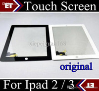 Wholesale DHL original Touch Screen digitizer Screen Digitizer with home button adhesive for iPad Air ipad ipad ipad m Black white TC6