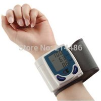 Wholesale Digital LCD Wrist Blood Pressure Monitor With Heart Beat Rate Pulse Measure