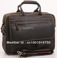 abs bulls - Men s Bull Leather Big Briefcase Messenger Tote Bag Busine laptop quot Bag A2951