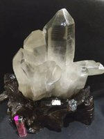 Wholesale 5 kg natural white transparent quartz crystal cluster specimen quartz crystals natural stones and minerals bola de cristal