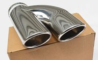 Wholesale For Skoda octavia refit special tail pipe double tube exhaust pipe cover muffler