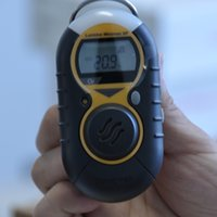 Wholesale Personal Single Gas Detector Portable Gas Detector H2S CO Gas Detector Combustible Gas Transmitter Toxic Gas Sensor Industrial Gas Leakage