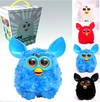 Wholesale 7 Colors Furby Boom Plush Toy Talking Phoebe Firbi dolls Recording Pelucia Electronic Toys Xmas Gift for kids D462