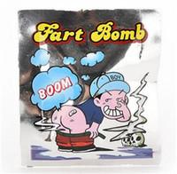 achat en gros de gadgets gifts-Best-vente Smelly Fart Sachet bombe Sacs Stink Sac de Bombes Joke Gadget Prank Gag cadeaux Explosion Spice Sacs Jouets