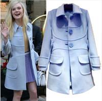 Wholesale Hot Sale Winter Wool Coat Jacket Womens New Fashion Europe Slim Single Breasted Coat Thick Woolen Jacket Coat Women