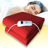 Wholesale Super Comfy Luxury Electric Blanket Under Heated Washable Single Double King Bed Electric Blanket Single Intelligent Temperature Control
