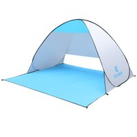 Wholesale Sun Tent Outdoor Camping Fishing UV Protection Quick Automatic Opening Beach Tent Portable Ultraviolet proof Summer Beach Tent