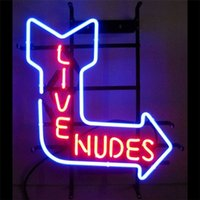 Wholesale NEW LIVE Signs Real Neon Light Sign Display Beer Bar Pub Club Garage NRT32