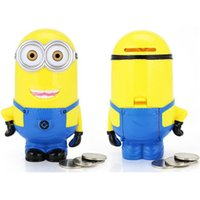 babies money box - Money Box D Minions Yellow Cartoon Figures Piggy Bank Save Coin Cent for Baby Girl Boy Home Decoration Novelty Children Christmas Gifts