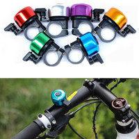 Wholesale 7 colors High quality Aluminium alloy metal bike handlebar bell ring cycling sport bicycle Horns accessories