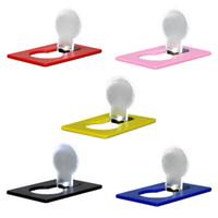Wholesale New LED Card Light Pocket Lamp LED Flashlight Portable Mini Light Put In Purse Wallet Size Emergency Light Portable Outdoor Tool