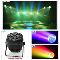 bee sound - 6pcs rgbw x15w zoom par in1 bee eye led par can light for disco night stage