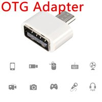 Wholesale Premium OTG adapter for Samsung sony HTC Huawei micro USB to OTG connect keyboard mouse camera