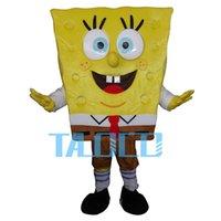 adult spongebob costumes - HOT Spongebob Costume Cartoon Character Adult Cute Fancy Dress Mascot