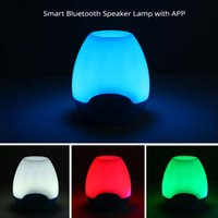 audio reader app - Smart RGB LED Light Lamp Bluetooth Speaker Colorful Night Light Lantern TF mm Audio Input Smart APP