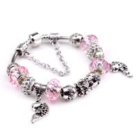 big fish bracelets - 2016 New DIY bracelet Best Quality Big Coupon Discount Women Jewelry White Plated Characteristic fish Bracelets PSL0018