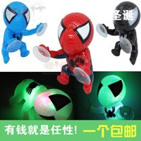 Wholesale Shipping motorcycle refit accessories screw Spider Man Doll wildfire fluke decoration