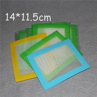 Wholesale Silicone wax pads dry herb mats large cm square mat dabber sheets jars dab tool for silicon dabber oil containers