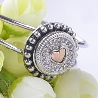 Wholesale New Arrival Noosa MM Snap Button For Ginger Snaps Interchangeable Jewelry Fit Rhinestone for Women Free Shippping