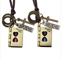 bible times - The new forever love Bible Harry Potter couple time hourglass Pendant Necklace Magic Book Valentine s Day