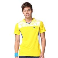 Wholesale Quick Dry Sportswear Set Men Women Tennis Badminton Table Tennis Polyester Jersey Couple Sports Dress Plus Size