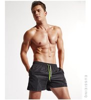 Wholesale Man summer casual boardshorts men travel beach shorts surf swimming quick dry seaside bathing swim suit swimwear surfing short