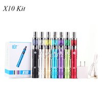 battery capacity rating - ECT X10 Starter Kit ml Capacity Mini Fog Atomizer with mah Built in Battery W Power Rate