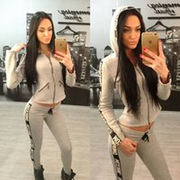 american auto classics - HOT SALE Newest Women Sexy Tracksuits Set Woman Clothes Tracksuit Sets Classic Sportswear Fashion Hoodies Jogging Sports Suit