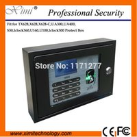 Wholesale Fit fingerprint time recorder TX628 X628 X628 C UA300 UA400 S30 ICLOCK360 U160 U100 iclock300 metal protect cover safety cover
