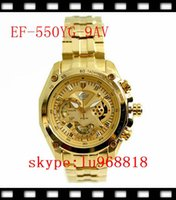 best second dates - TOP QUALITY BEST PRICE New EF SG AV EF SG EF YG AV EF YG Gold Colour Men s Chronograph Sport Watch With second stopwat