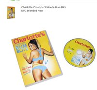 Wholesale 2016 The Newest Charlotte Crosby s Minute Bum Blitz DVD Branded New From Dhl