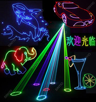 animation ads - ILDA W RGB full color Animation laser projector light for dj music lighting logo texts ads stage party club pub KTV projector